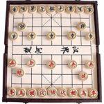 Gobus Juego de ajedrez Chino en una Caja Plegable Juegos de Viaje Juegos de Xiangqi