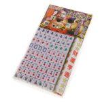 Juguetes Juegos de Mesa Mini Mahjong Chino Tradicional Viaje Verde