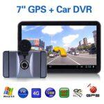 Leaftree – Navegación GPS para automóvil, 7 Pulgadas HD 1080P