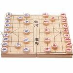 Niños Desarrollo de la Inteligencia de Juguetes educativos de Madera Plegable Juego de ajedrez Chino