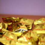 25 Gold Wrapped Fortune Cookies – Chinese New Year – Wedding Favours