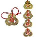 5 Juegos de Monedas Chinas Monedas de Fortuna Monedas Feng Shui Monedas