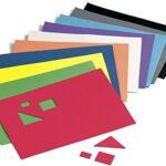 Faibo 218768 – Pack de 10 láminas de goma Eva, 20 x 30 cm, multicolor
