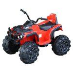 Homcom Quad Eléctrico Infantil Vehículo Eléctrico Cuatrimoto Batería 12V