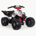 INJUSA- 12 V Quad Mercedes ATV 12V Licenciado para Niños de más de 3 Años